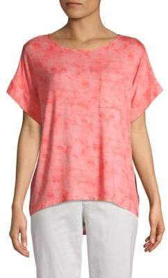 Jones New York Tie-Dye Dolman T-Shirt