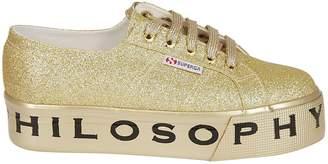 Philosophy di Lorenzo Serafini Superga Glitter Platform Sneakers