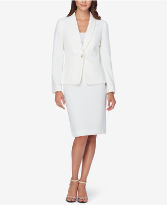 Tahari ASL One-Button Skirt Suit $280 thestylecure.com