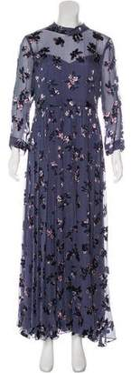 Rebecca Taylor Floral Maxi Dress w/ Tags