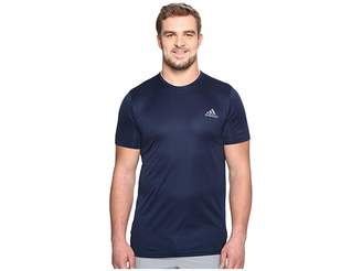 adidas Essentials Tech Tee - Big Tall Men's Short Sleeve Pullover