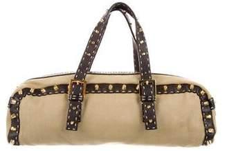 Fendi Studded Handle Bag