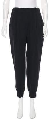 3.1 Phillip Lim Silk High-Rise Skinny Pants