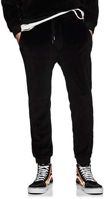 NSF Men's Velour Slim Jogger Pants