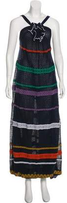 Sonia Rykiel Embroidered Maxi Dress w/ Tags