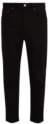 Acne Studios River Mid Rise Slim Leg Jeans - Mens - Black