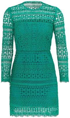 Cynthia Rowley Geo Lace Dress