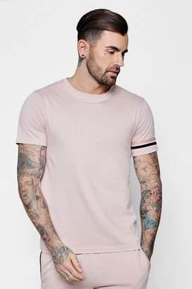 boohoo Stripe Detail T-Shirt