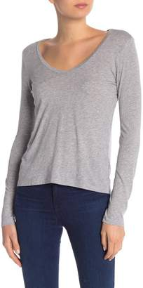 Splendid Long Sleeve U-Neck Tee