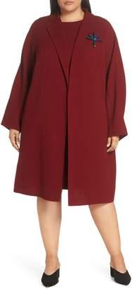 Lafayette 148 New York Lafayette 148 Carmelina Wool Jacket with Pin