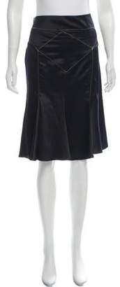 Just Cavalli Knee-Length Pleated Skirt