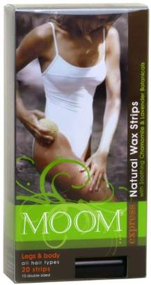 Moom Express Pre Waxed Strips For Legs & Body