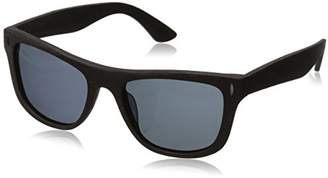 Hang Ten Gold Classic Wayfarer HTG1001 C1 Polarized Round Sunglasses