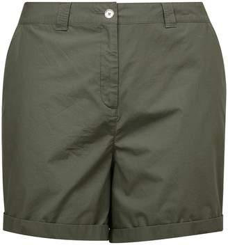 Dorothy Perkins Womens **Dp Curve Khaki Shorts