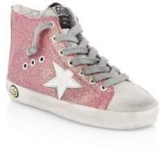 Golden Goose Baby's& Kid's Francy High-Top Sneakers