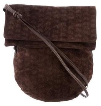 Bottega Veneta Suede Crossbody Bag