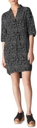 Whistles Lola Sahara-Print Dress