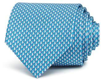 Salvatore Ferragamo Sailboats Classic Tie