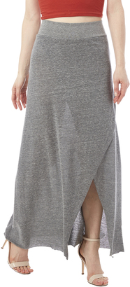 Alternative Apparel Remodel Maxi Skirt $48 thestylecure.com