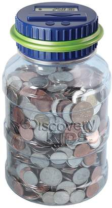 Discovery Blue Coin-Counting Money Jar