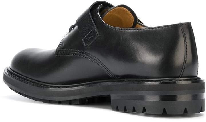 Alexander McQueen buckled Derby shoes