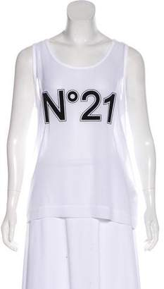 No.21 No. 21 Graphic Tank Top