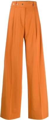 MRZ wide-leg trousers