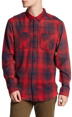 RVCA Plaid Flannel Regular Fit Shirt