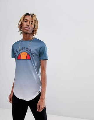 Ellesse Ombre T-Shirt In Blue