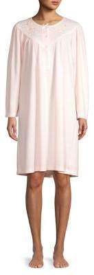 Miss Elaine Long Sleeve Nightgown