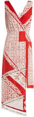 Altuzarra Pavilion bandana-print silk dress