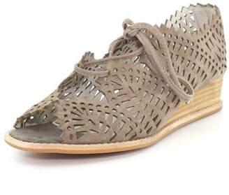 Jeffrey Campbell Womens Espejo Lace-up Wedge Sandal - 8