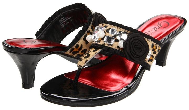 Grazie Giada (Tan/Leopard) - Footwear