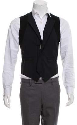Lanvin Wool Zip-Up Vest w/ Tags