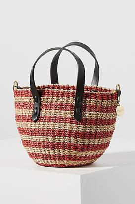 Clare Vivier Petite Lea Straw Tote Bag