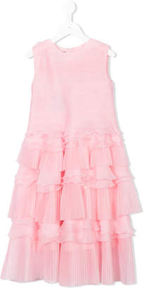 Oscar de la Renta Kids ruffled dress