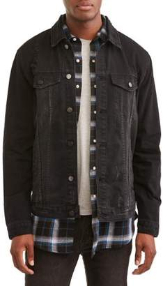 Jackson Professional Tools Men's Denim Trucker Jacket, Available Up To Size XL