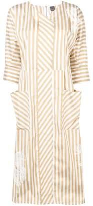Lorena Antoniazzi striped midi dress