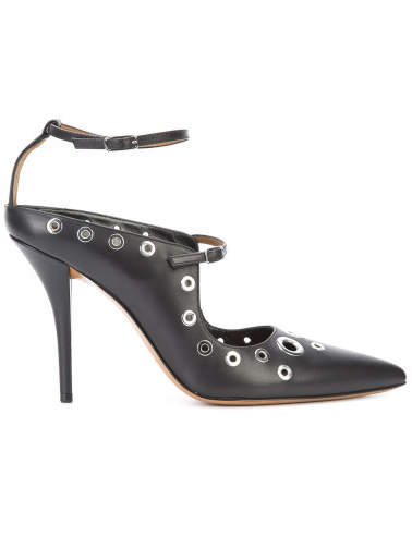 Givenchy Leather Point Toe Pumps - Black - Size IT38 - Givenchy