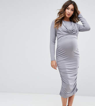 Asos Maternity - Nursing Asos Maternity Nursing Cowl Neck Dress