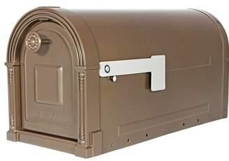 Gibraltar Mailboxes Garrison Post Mounted Mailbox