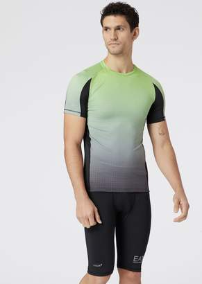 Emporio Armani Ea7 Graphic T-Shirt In Vigor7 Tech Fabric
