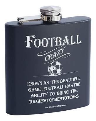 Fashion World Hip Flask Football
