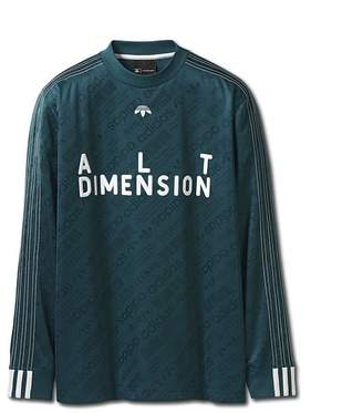 Alexander Wang ADIDAS ORIGINALS BY AW SOCCER LONG SLEEVE SHIRT