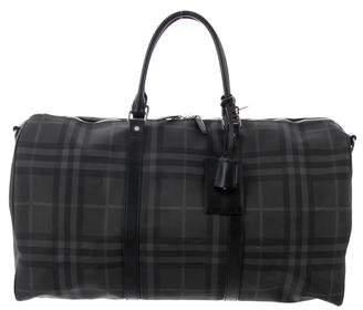 Burberry Nova Check Duffle Bag