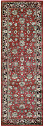 "Couristan Closeout! Haraz HAR1443 Red 2'7"" x 7'10"" Runner Rug"