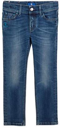 Stefano Ricci Kids' Denim Sport Trousers, Size 6-12
