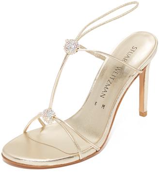 Stuart Weitzman Trixie Sandals $498 thestylecure.com