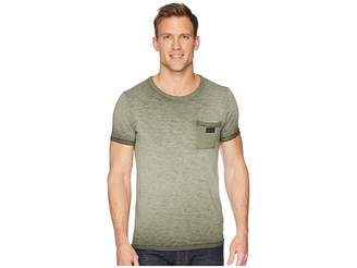 Scotch & Soda Oil-Washed Tee with Cut Sewn Styling