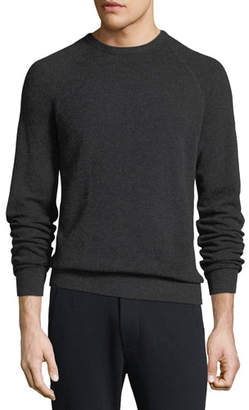 Vince Men's Birdseye Wool-Cashmere Sweater